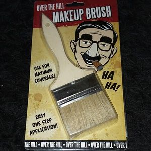 OVER THE HILL MAKE-UP BRUSH *GREAT GAG GIFT!
